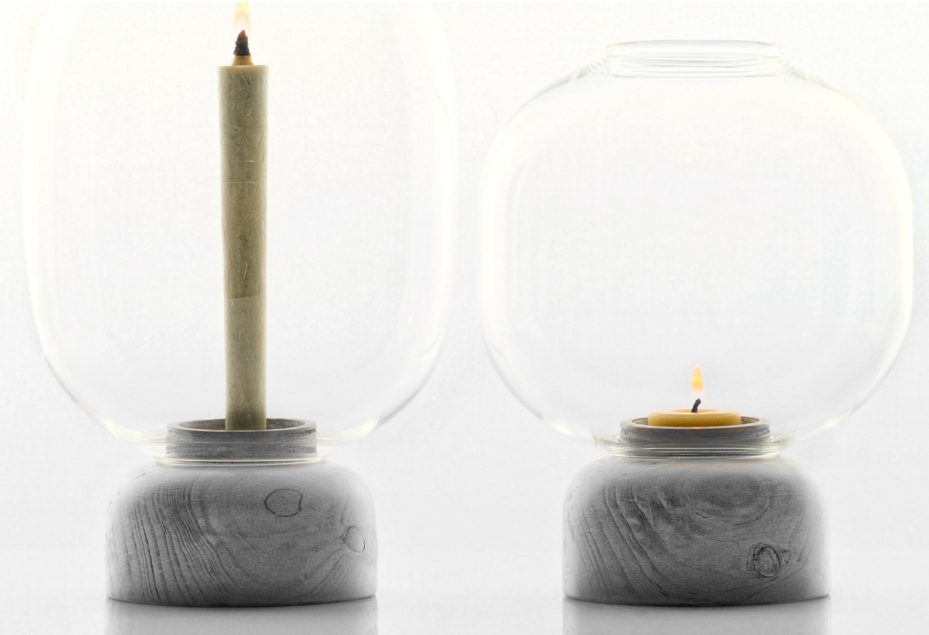 candle holder - Denis Guidone design - 01