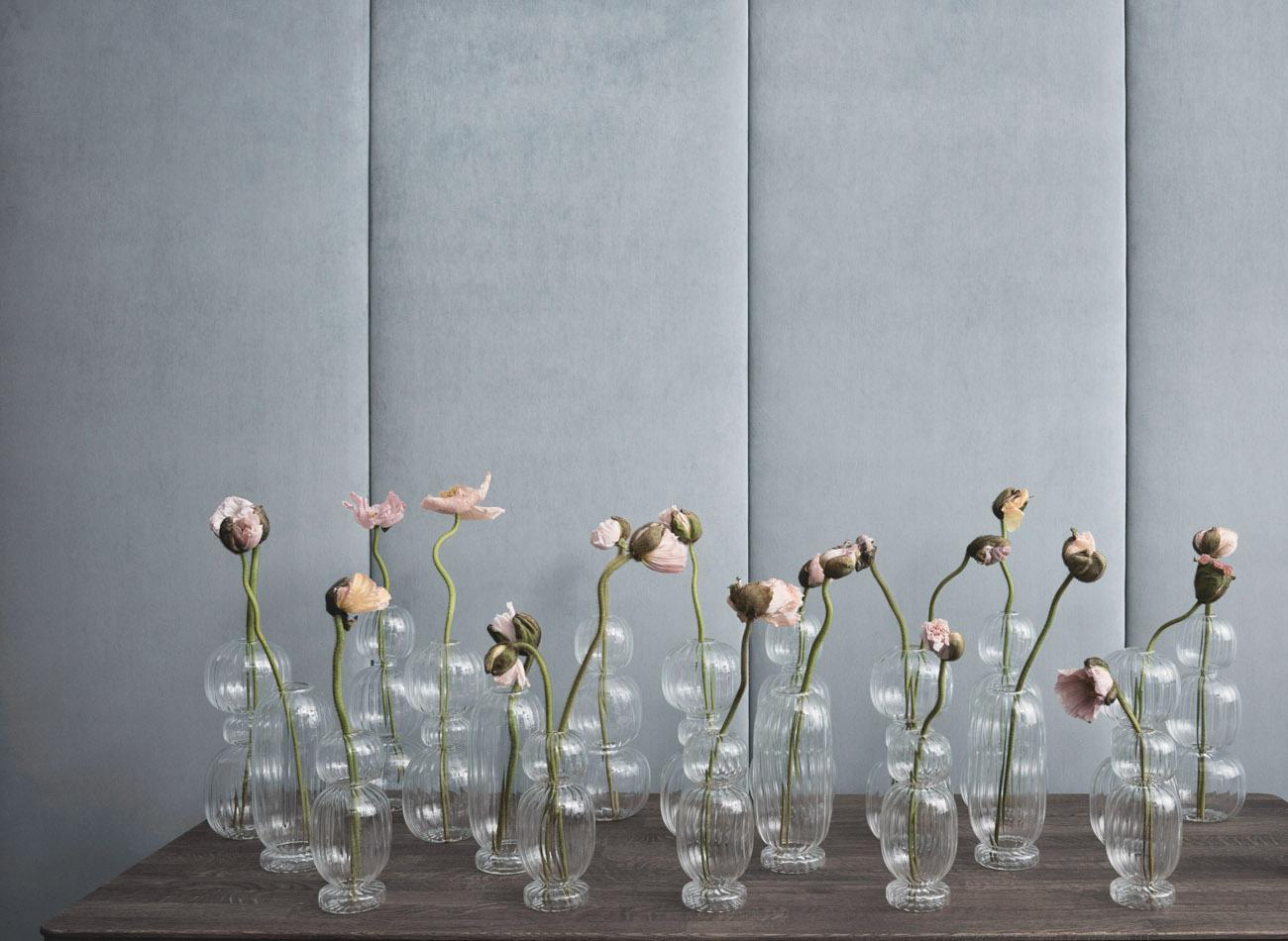 Denis Guidone luce vaso portra candela illuminazione scandinavia